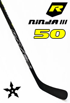 Raven Ninja III Junior Hockey Stick 50 Flex Left C88 - Go-T-Hockey Ltd.