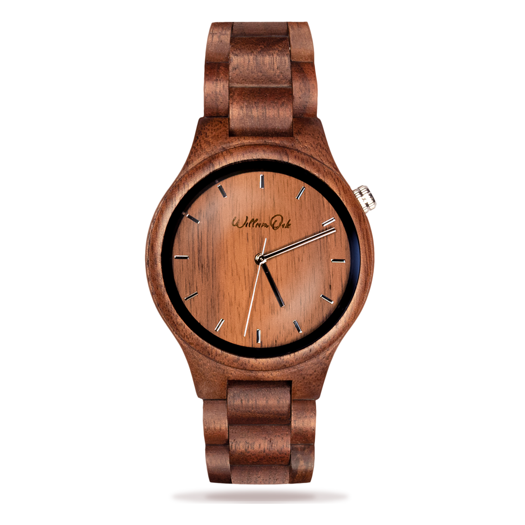 Reloj Idaho [Nogal] William Oak