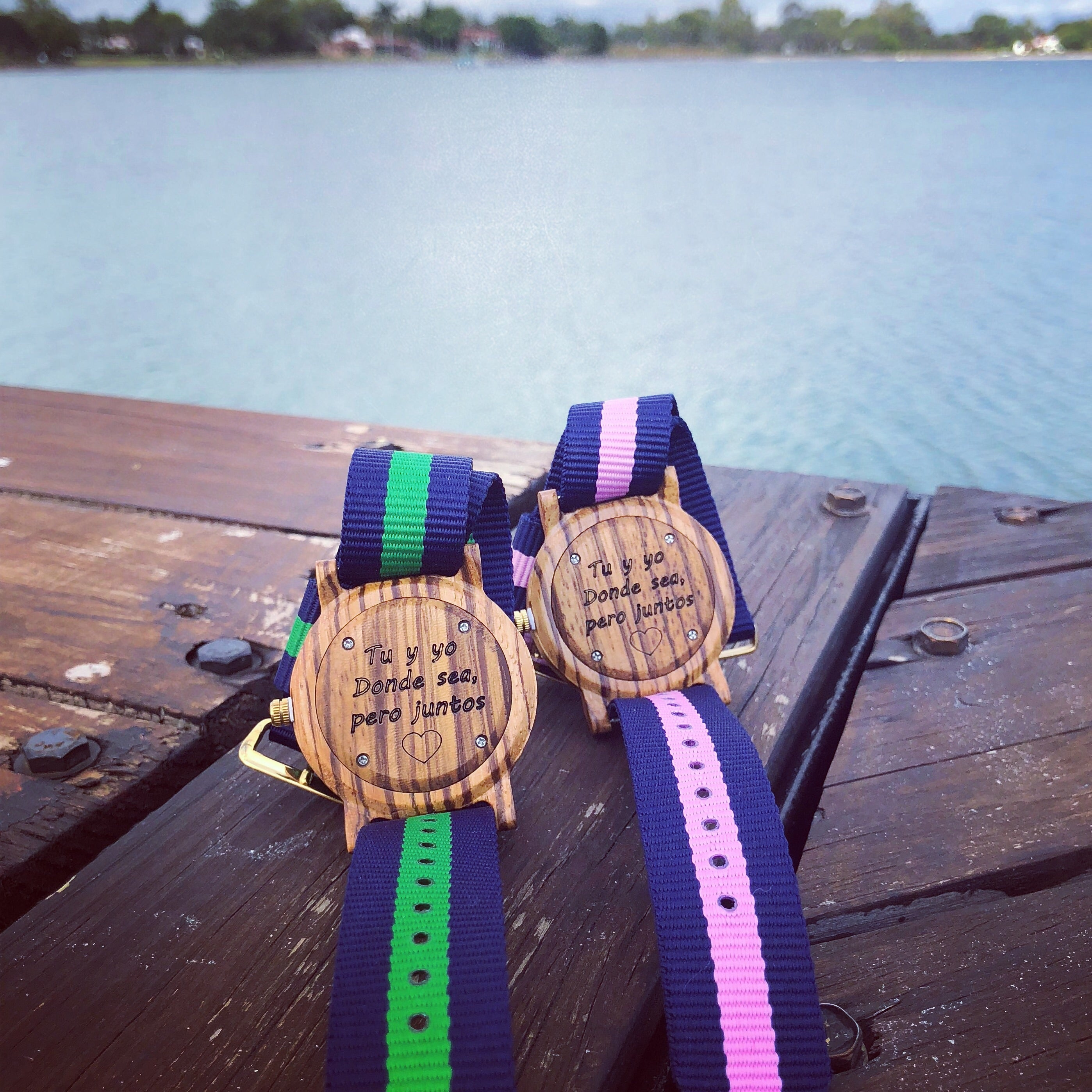 Paquete de Relojes Mossy & Timber WOmx