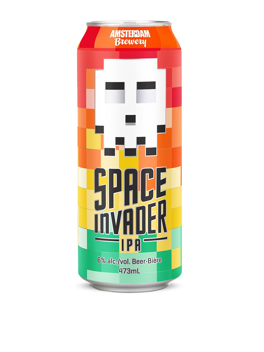 Amsterdam Space Invader IPA 473ml