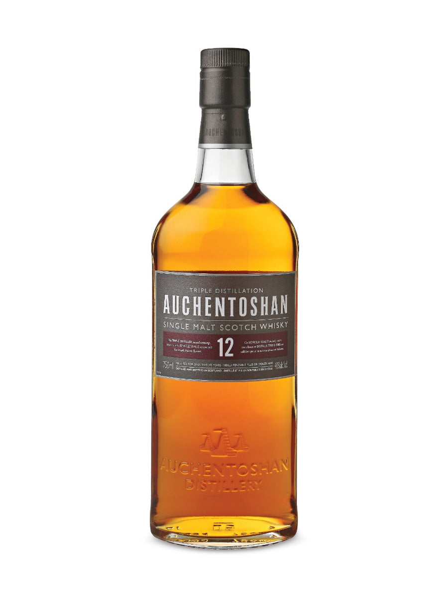 Auchentoshan 12 Year Old Single Malt Scotch Whisky 750ml