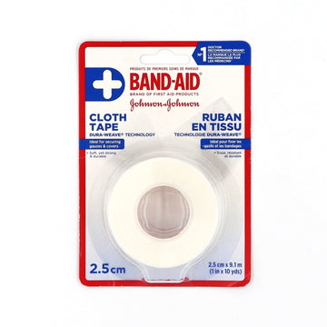 Band-Aid Cloth Tape 1in x 10yards
