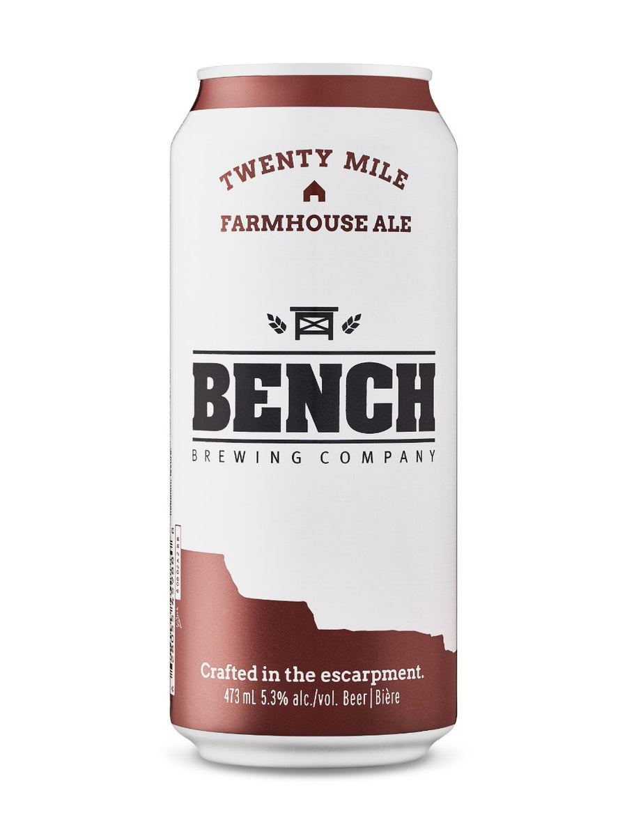 Bench Brewing Twenty Mile Farmhouse Ale 473ml
