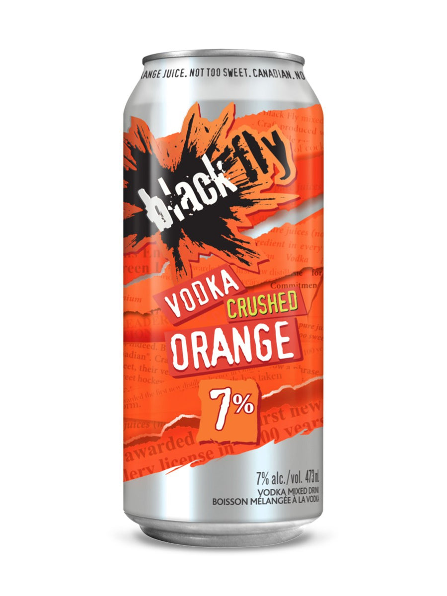 Black Fly Vodka Crushed Orange 473ml