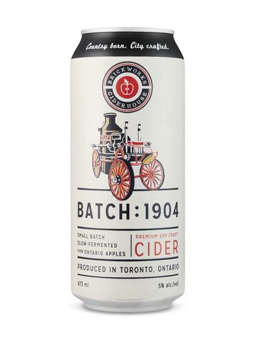 Brickworks Ciderhouse Batch : 1904 473ml