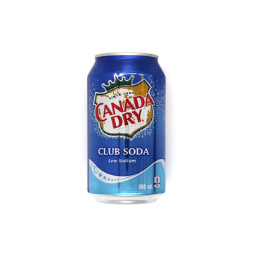 Canada Dry Club Soda Low Sodium