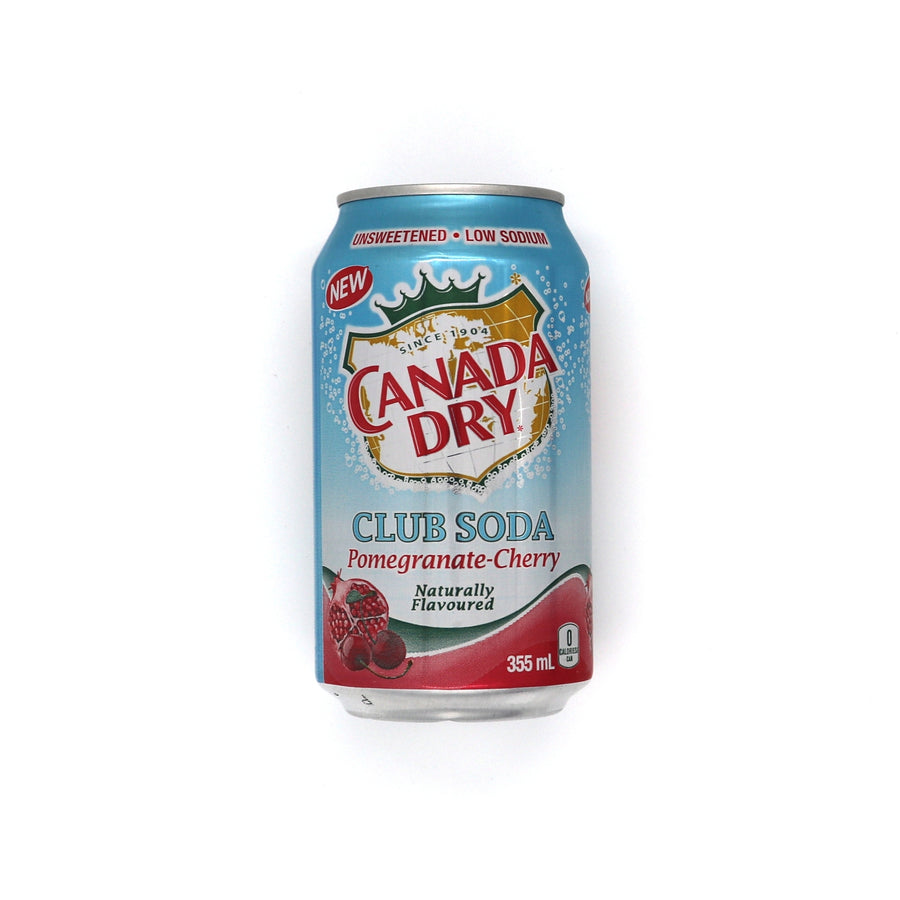 Canada Dry Club Soda Pomegranate Cherry