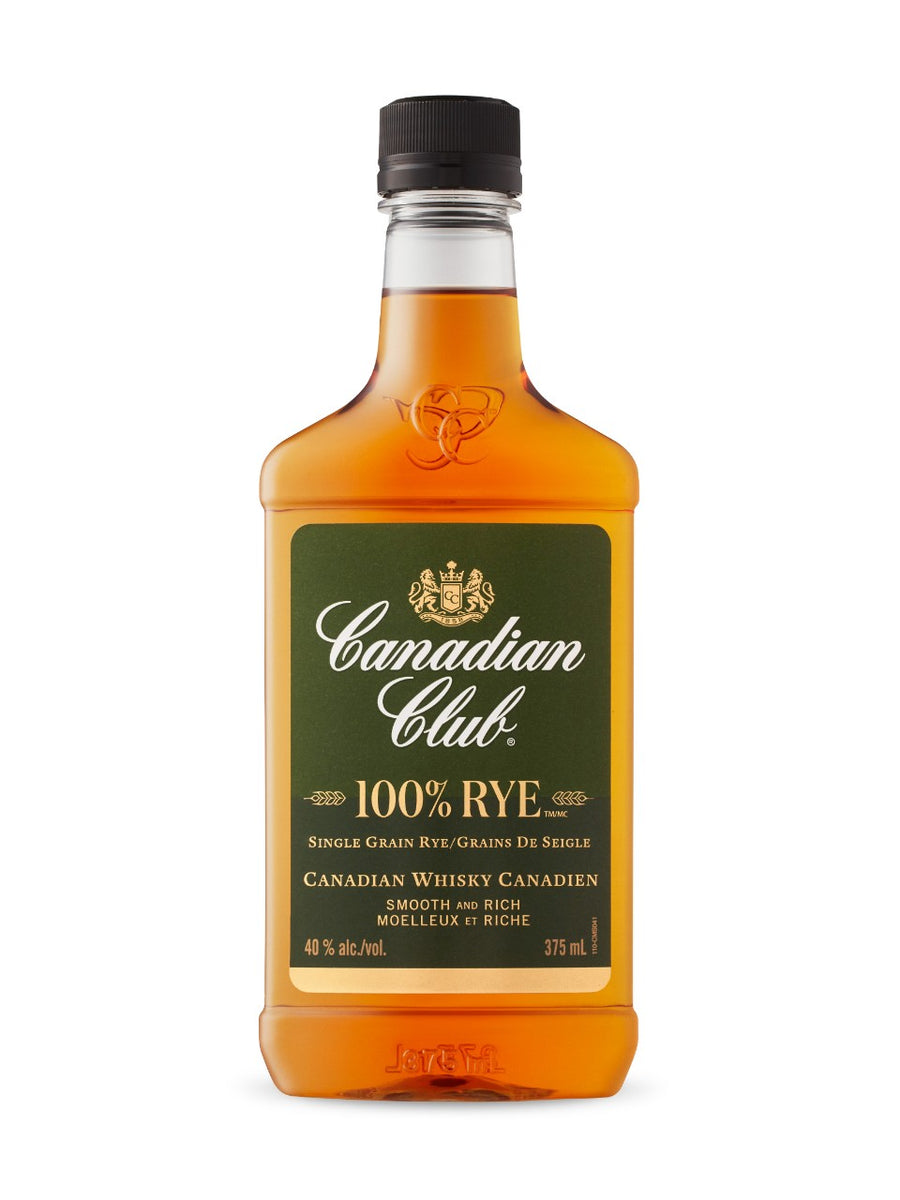 Canadian Club 100% Rye 375ml