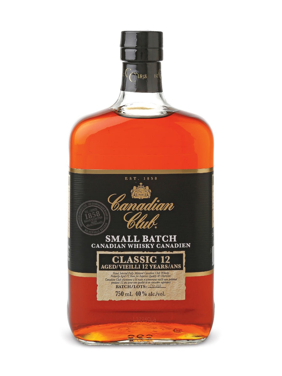 Canadian Club Classic 12 Year Old 750ml
