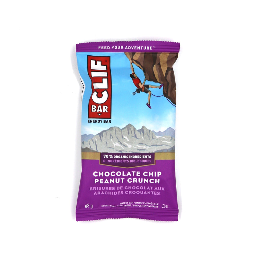 Clif bar chocolate chip peanut crunch 68g