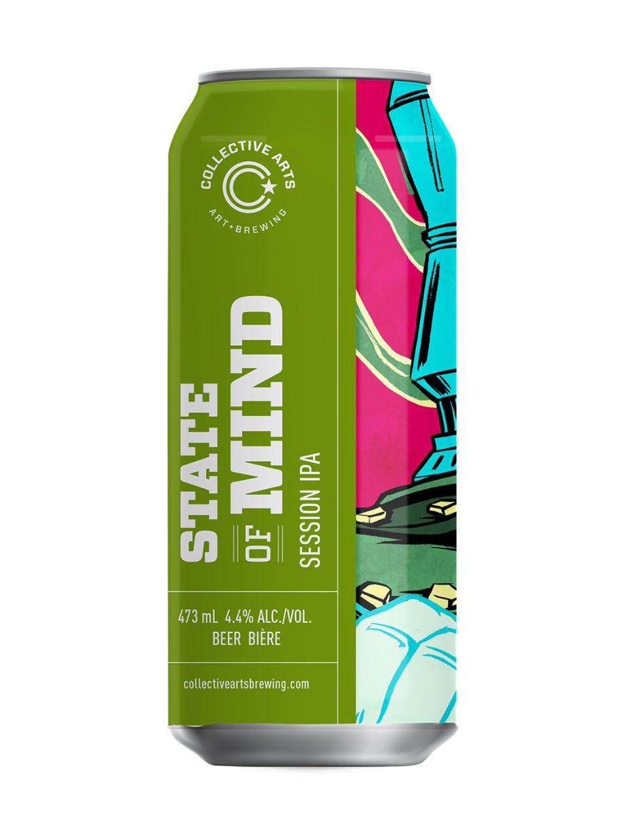 Collective Arts State Of Mind Session IPA 473ml