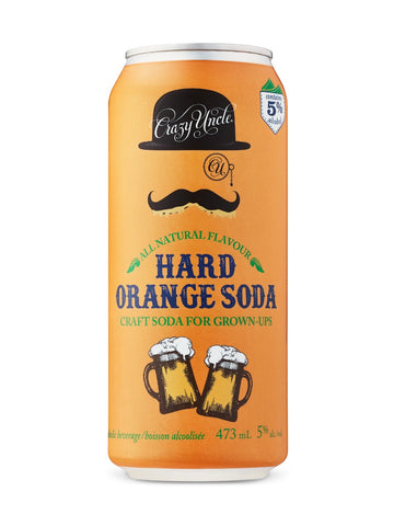 Crazy Uncle Hard Orange Soda 473ml