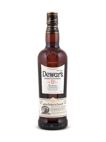 Dewar's 12 Year Old Scotch Whisky 750ml