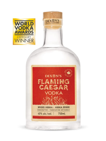 Dixon's Flaming Caesar Vodka 750ml