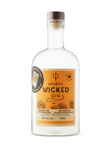 Dixon's Wicked Citrus Gin 750ml