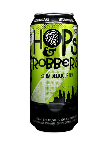 Double Trouble Hops & Robbers IPA 473ml