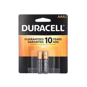Duracell AAA 2 batteries