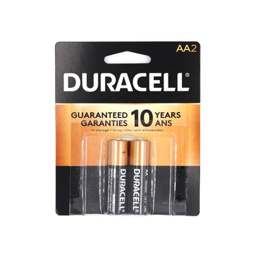 Duracell AA 2 batteries