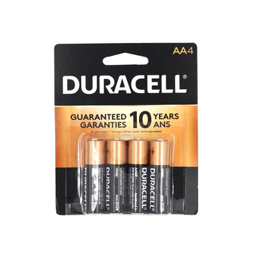Duracell AA 4 batteries
