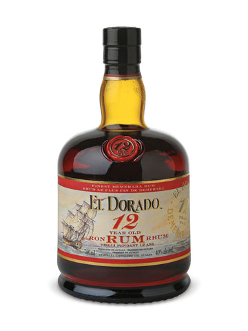 El Dorado 12 Year Old Rum 750ml