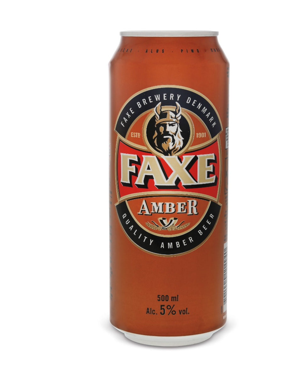 Faxe Amber Lager 500ml