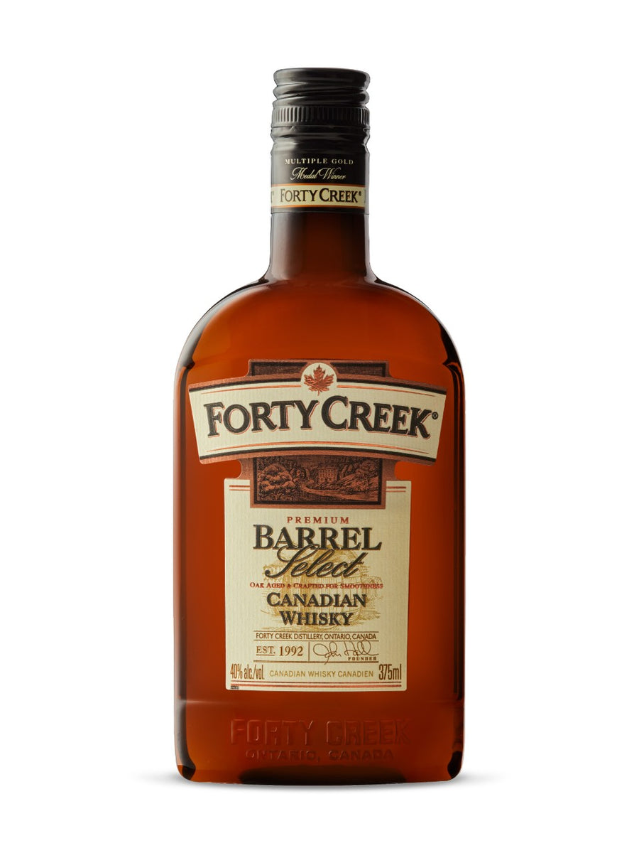Forty Creek Barrel Select Whisky (PET) 375ml