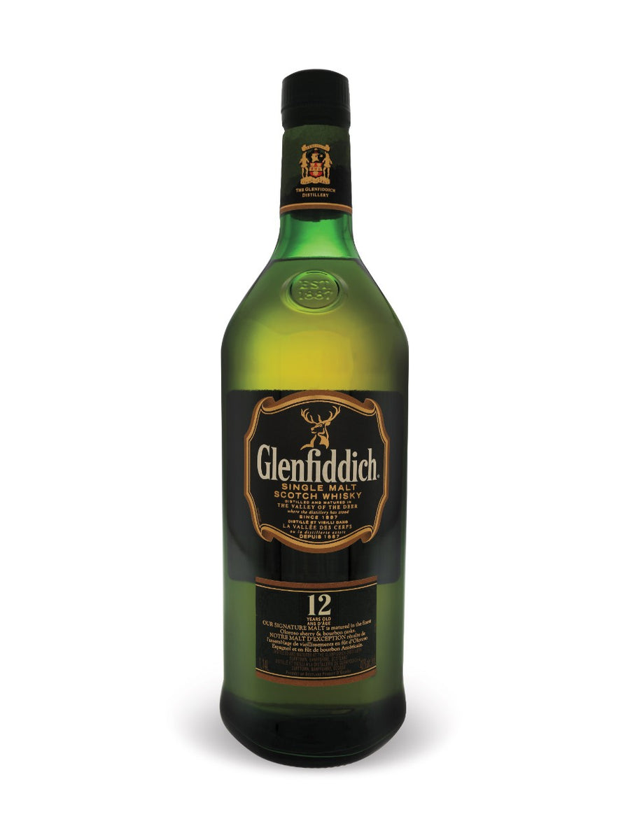 Glenfiddich 12 Year Old Single Malt Scotch Whisky 1140ml