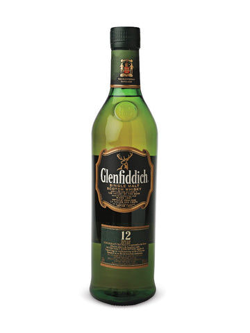 Glenfiddich 12 Year Old Single Malt Scotch Whisky 750ml