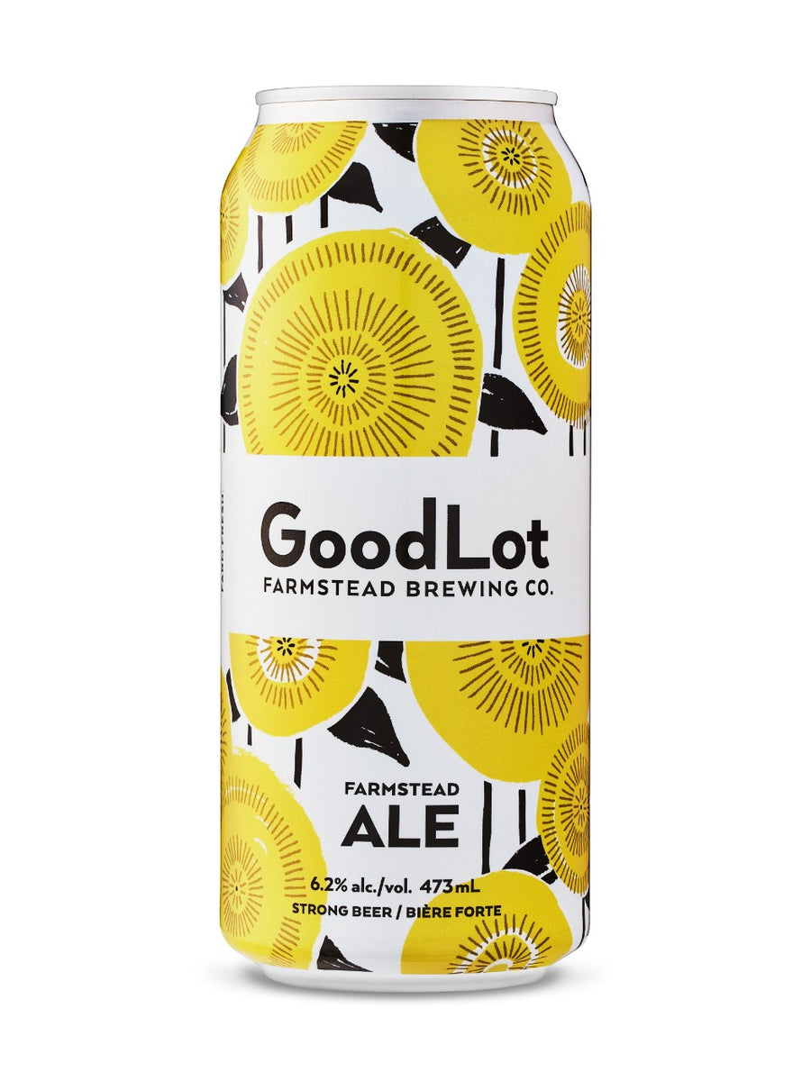 GoodLot Farmstead Ale 473ml