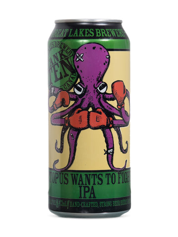 Great Lakes Brewery Octopus Wants To Fight IPA 473ml
