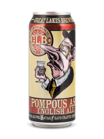 Great Lakes Brewery Pompous Ass English Ale 473ml