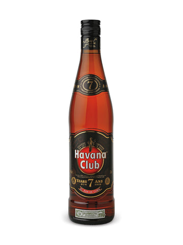 Havana Club Dry 7 Year Old Rum 750ml