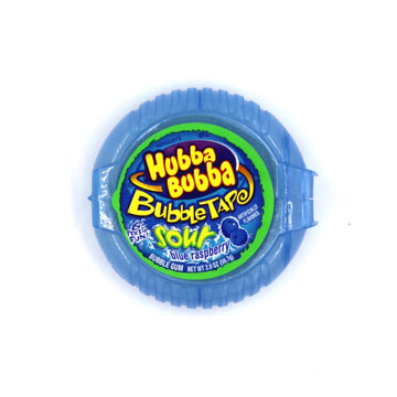 Hubba Bubba Bubble Tape Sour Blue Raspberry