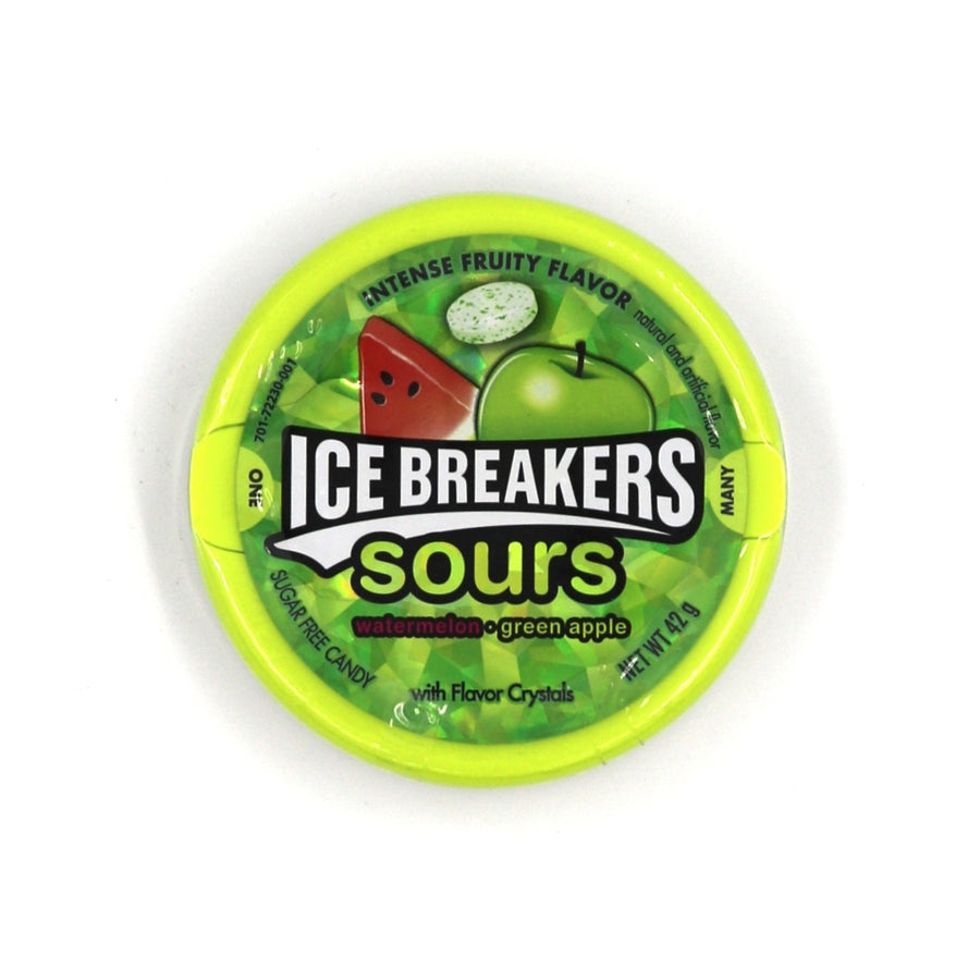 Ice Breakers Sours Watermelon Green Apple 42g