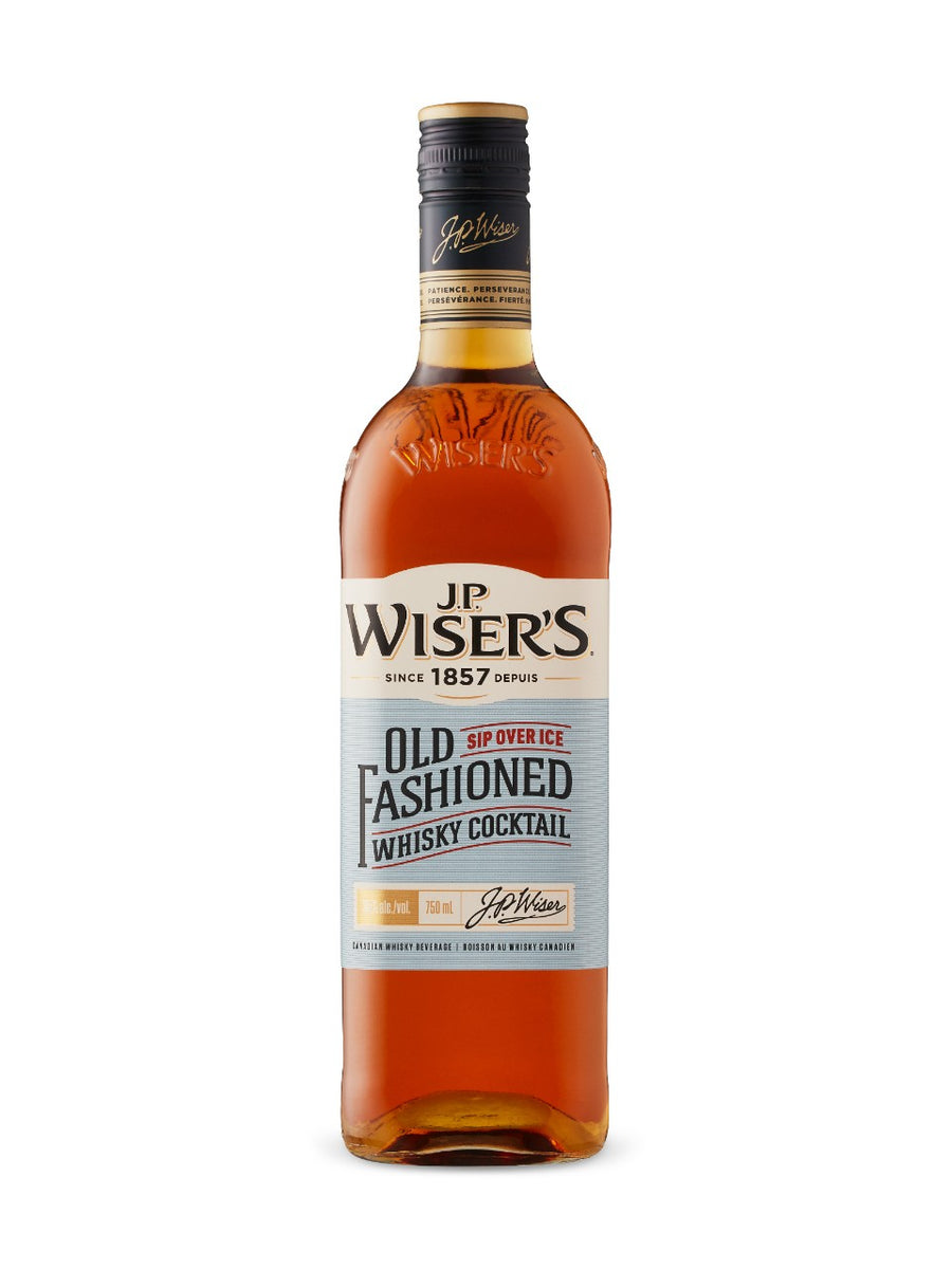 J.P. Wiser's Old Fashioned Canadian Whisky 750ml