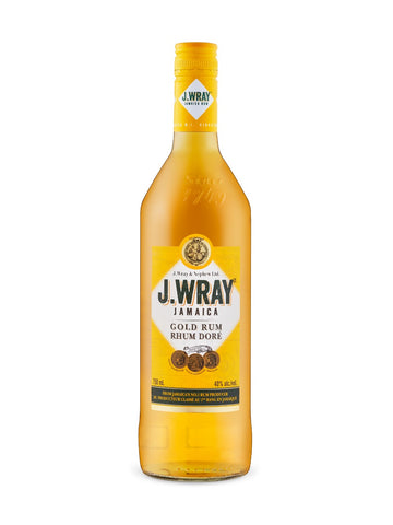 J. Wray Gold Rum 750ml