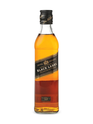 Johnnie Walker Black Label 12 Year Old Scotch Whisky 375ml