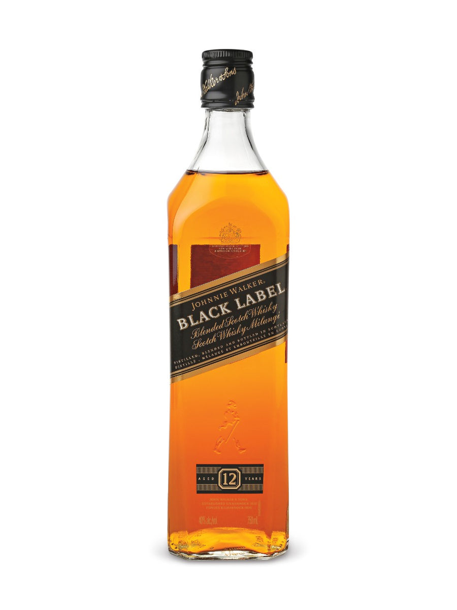 Johnnie Walker Black Label Scotch Whisky 750ml