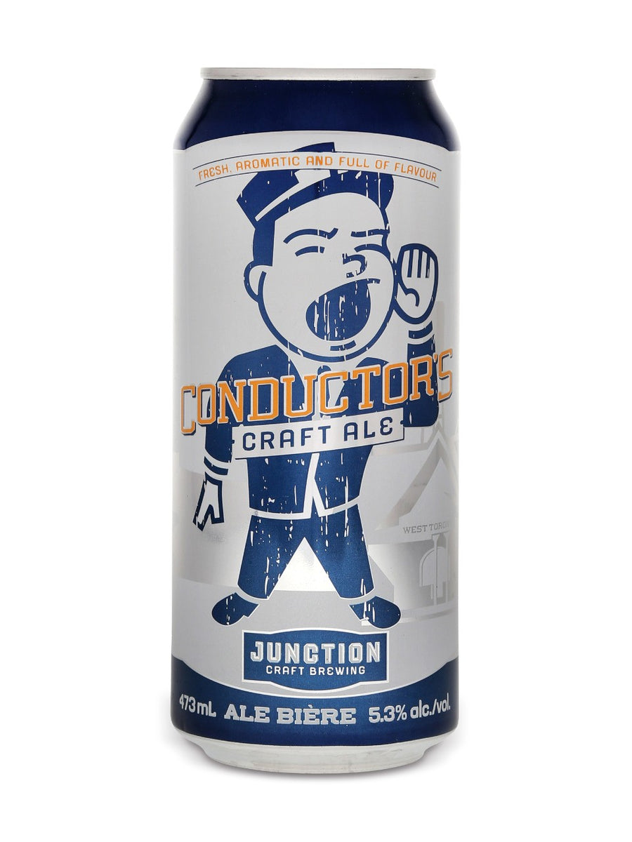 Junction Craft Brewing Conductor's Craft Ale 473ml