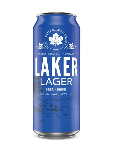 Laker Premium Lager 473ml