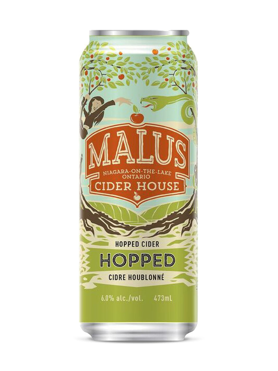 Malus Ciderhouse Hopped Cider 473ml