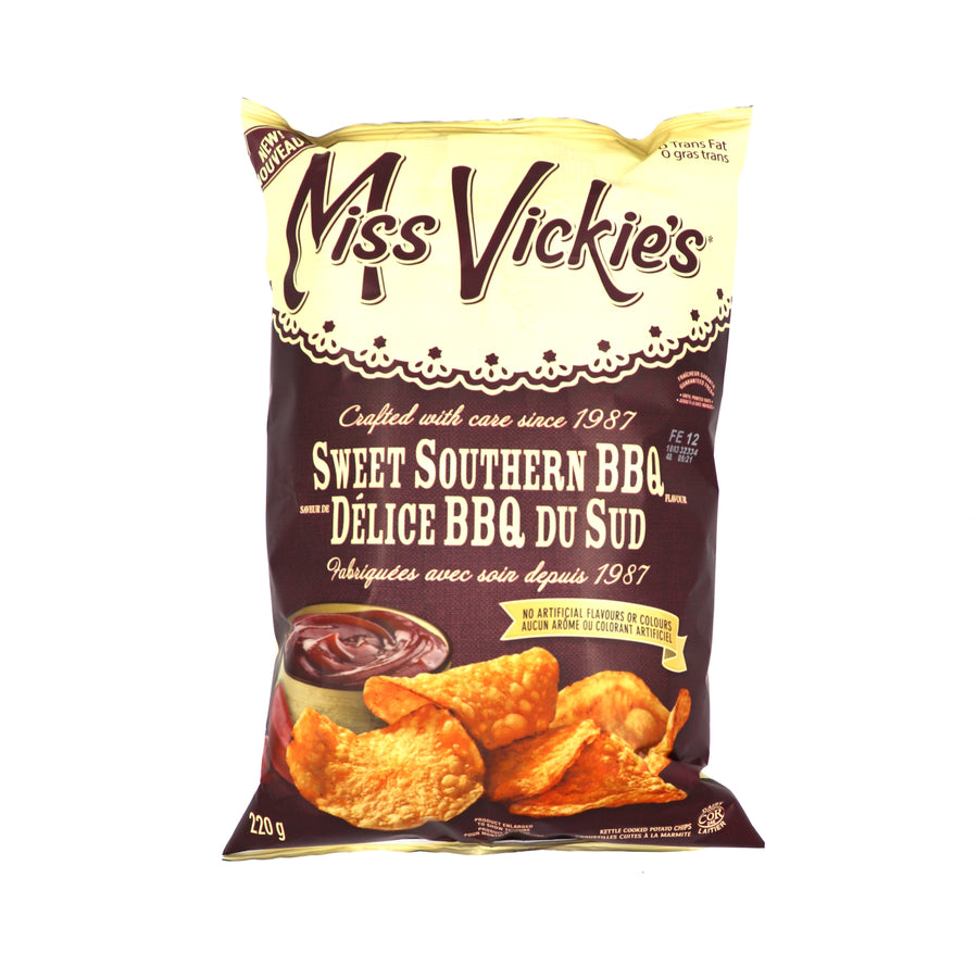 Miss Vickie's Sweet Southern BBQ 220g