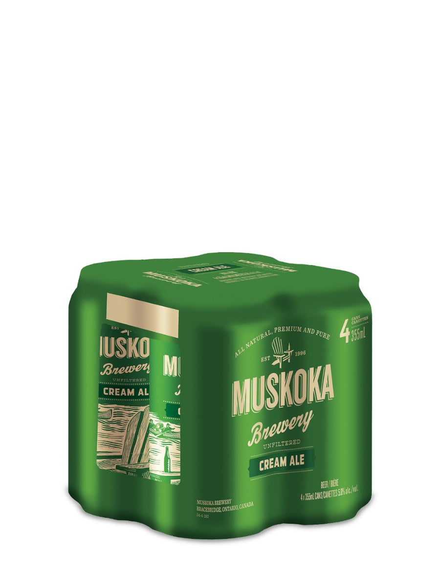 Muskoka Cream Ale 4x355ml