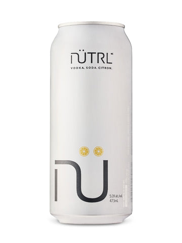 Nutrl Vodka Soda Lemon 473ml