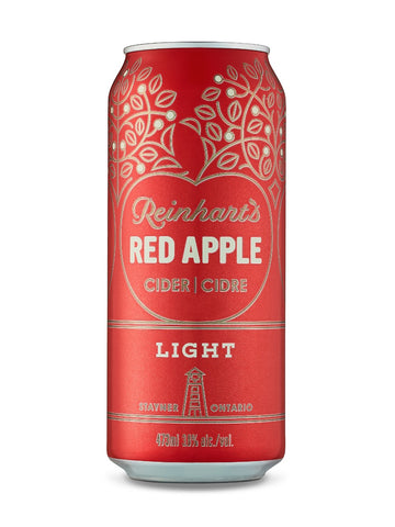 Reinhart's Red Apple Light Cider 473ml