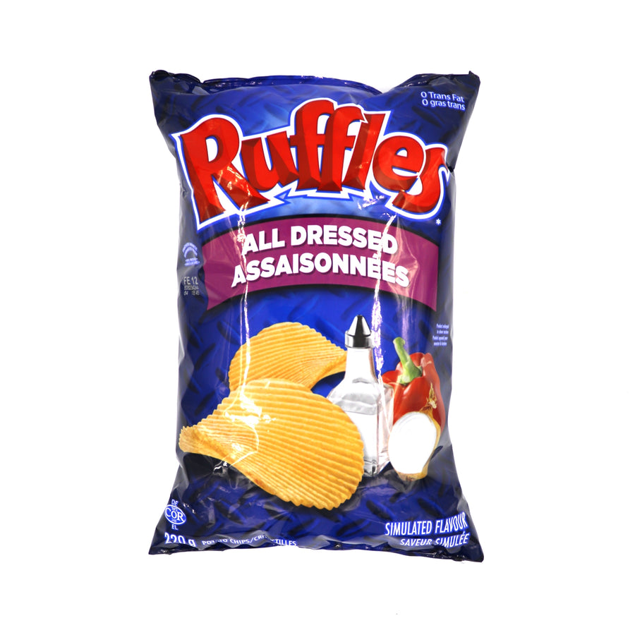 Ruffles All Dressed 220g