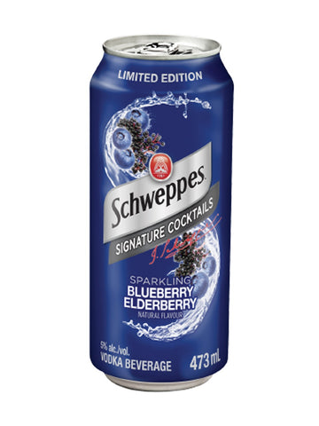 Schweppes Blueberry Elderberry 473ml