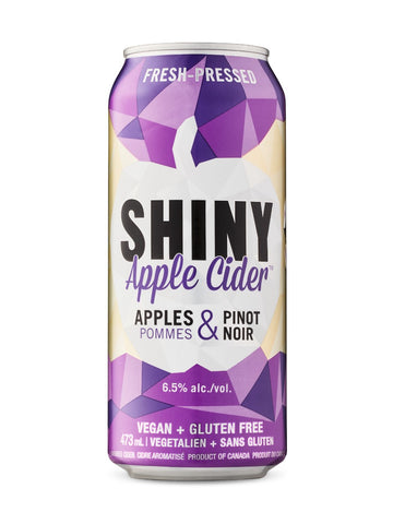 Shiny Apple Cider With Pinot Noir 473ml