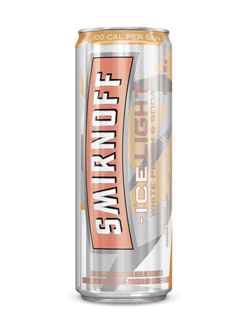 Smirnoff Ice Light White Peach 4x355ml