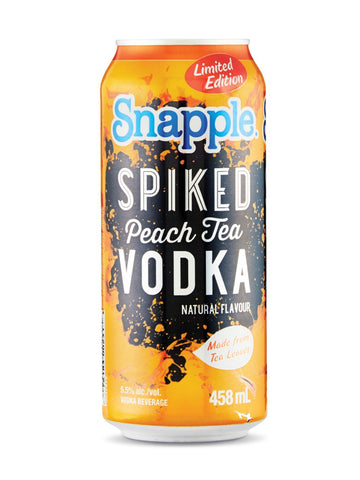 Snapple Spiked Peach Tea Vodka 458ml